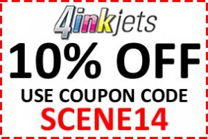 4Inkjets Coupon Code SCENE14