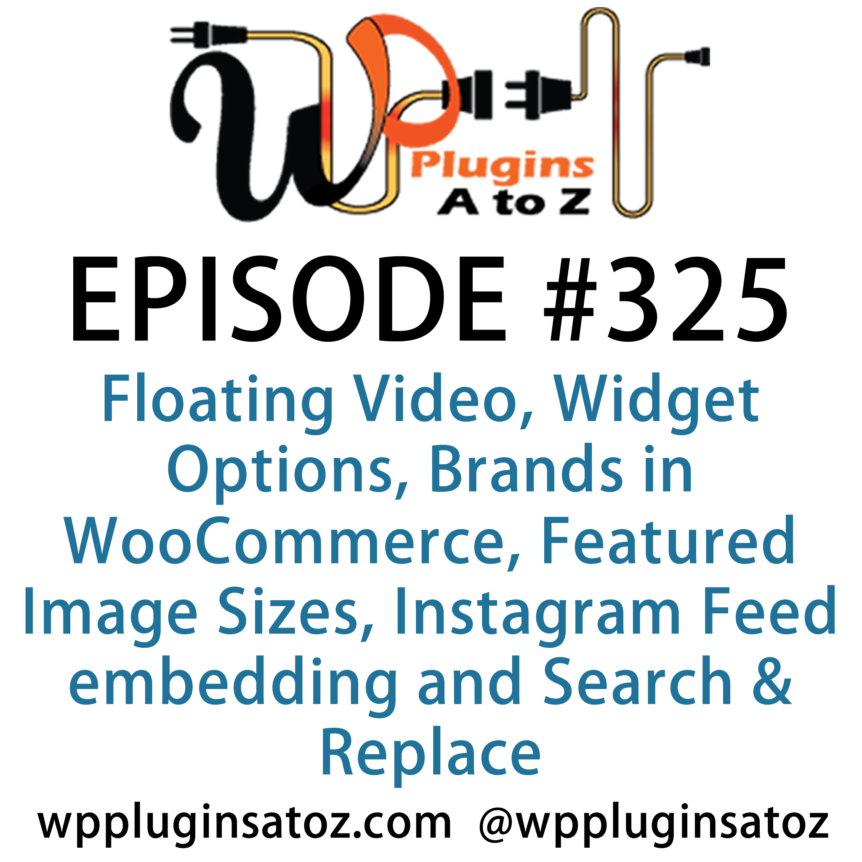 WordPress Plugins A-Z #325 Floating Video