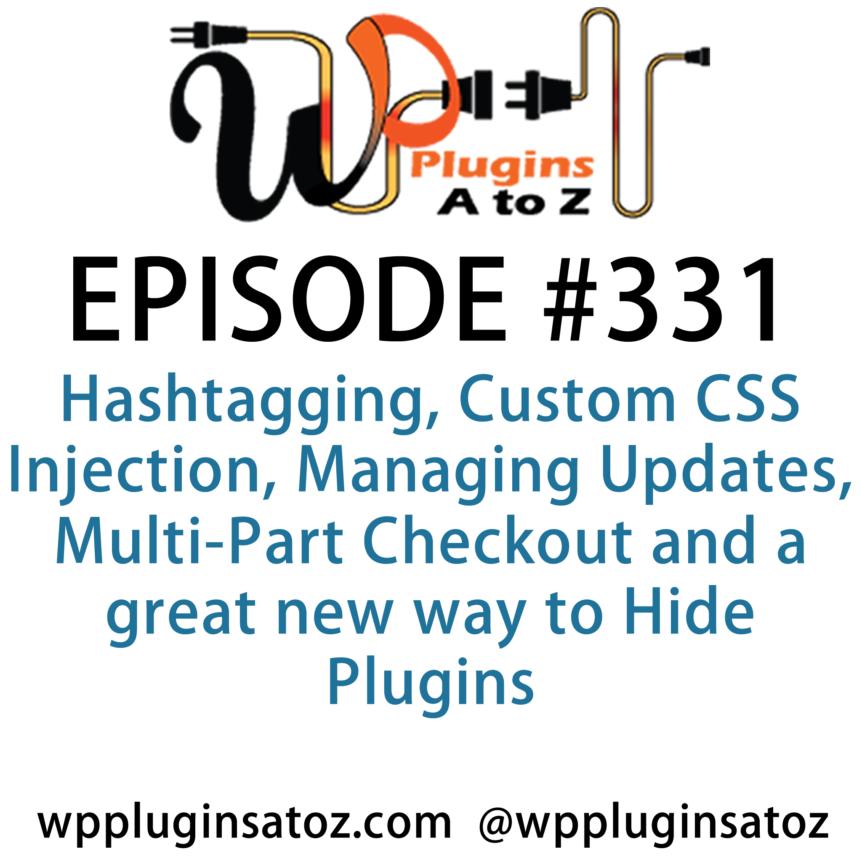 WordPress Plugins A-Z #331 Hashtagging