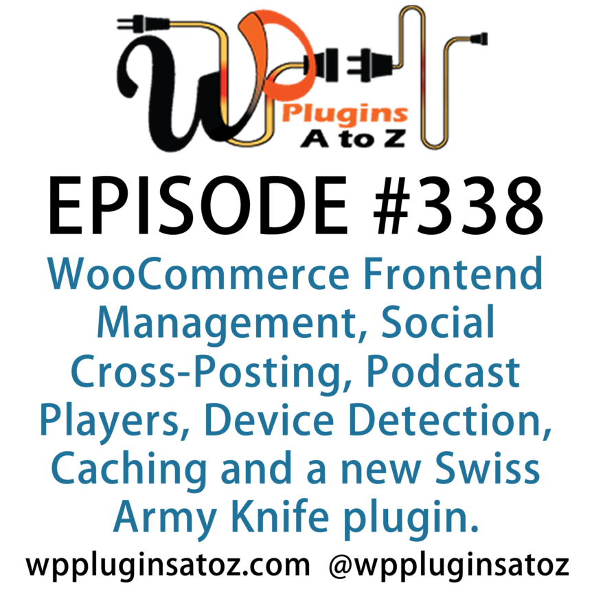 WordPress Plugins A-Z #338 Social Cross-Posting