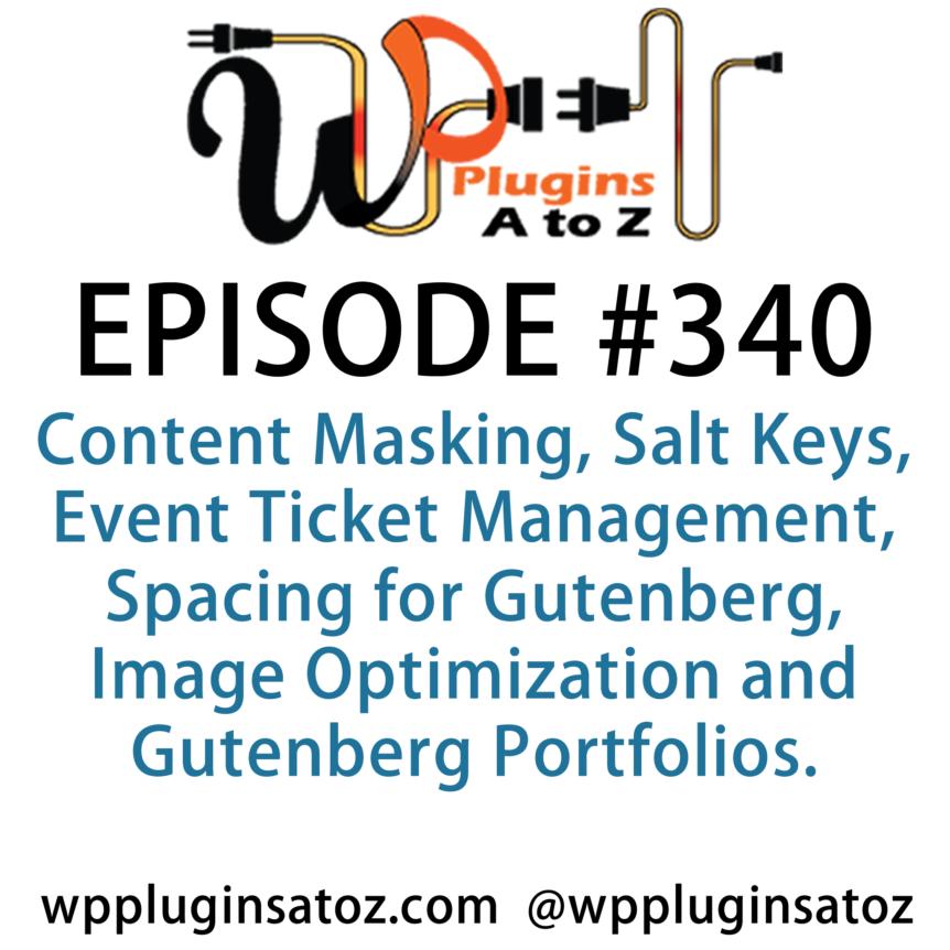 WordPress Plugins A-Z #340 Content Masking