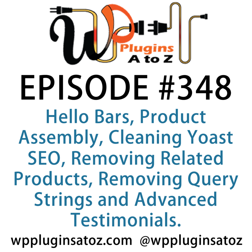 WordPress Plugins A-Z #348 Product Assembly