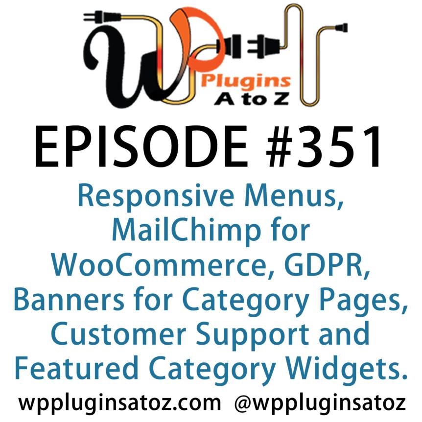 WordPress Plugins A-Z #351 Responsive Menus